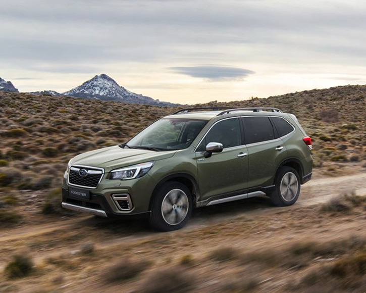 Subaru Forester e-Boxer at Simpsons Cars