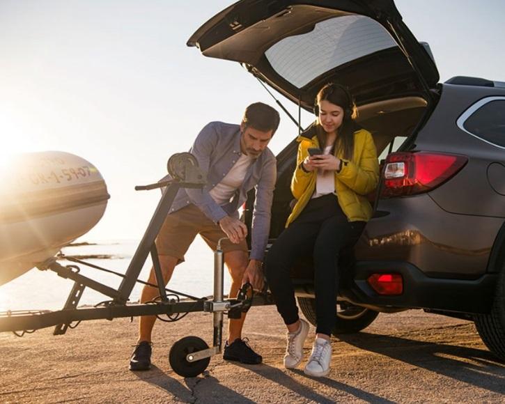 Subaru outback at Simpsons Cars