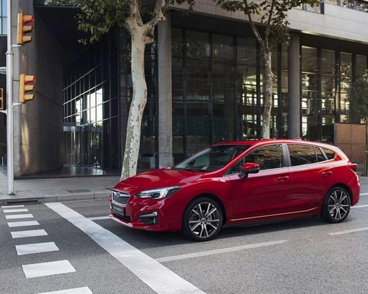 Subaru Impreza at Simpsons Cars
