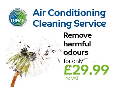TUNAP Air Con Cleaning Service Tunapp Servicing Offers | Cambridge, Bury St Edmunds, Ipswich  | John Banks Group | Automotive Retailer and Workshops