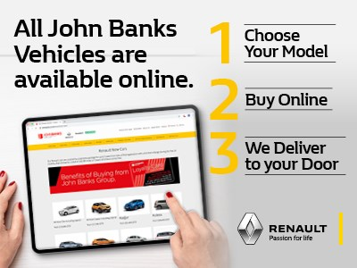 ONLINE - Want a Renault without visiting?