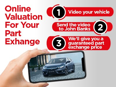 Honda - Guaranteed Part Exchange Pricing - Honda Cars