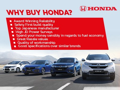 Why buy a Honda?