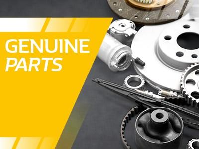 Renault - Genuine Parts or Motrio all supplied