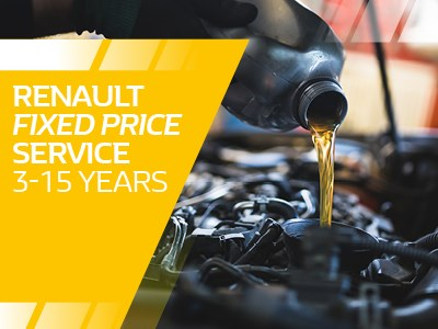 Renault - Fixed Price Service 3 Yr +
