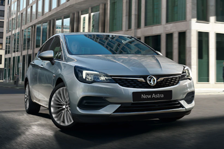 New Vauxhall Astra Light - Now £289 a Month With £289 Deposit