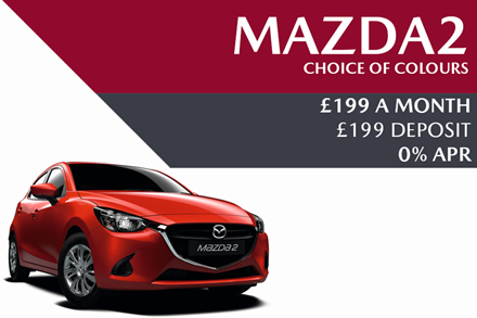 Mazda2 - Now £199 A Month With £199 Deposit And With 0% Finance
