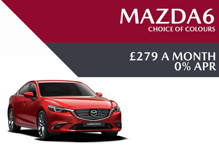 Mazda6 - Now £279 A Month With 0% APR