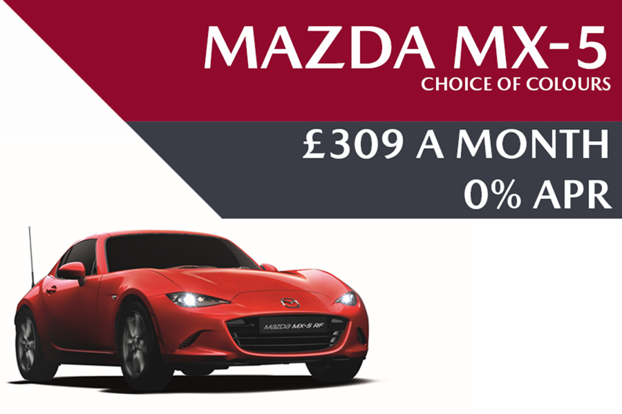 Mazda MX-5 - Now £309 A Month With 0% APR