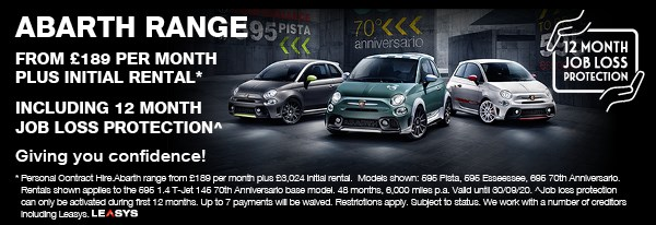 ABARTH RANGE JOB LOSS PROTECTION