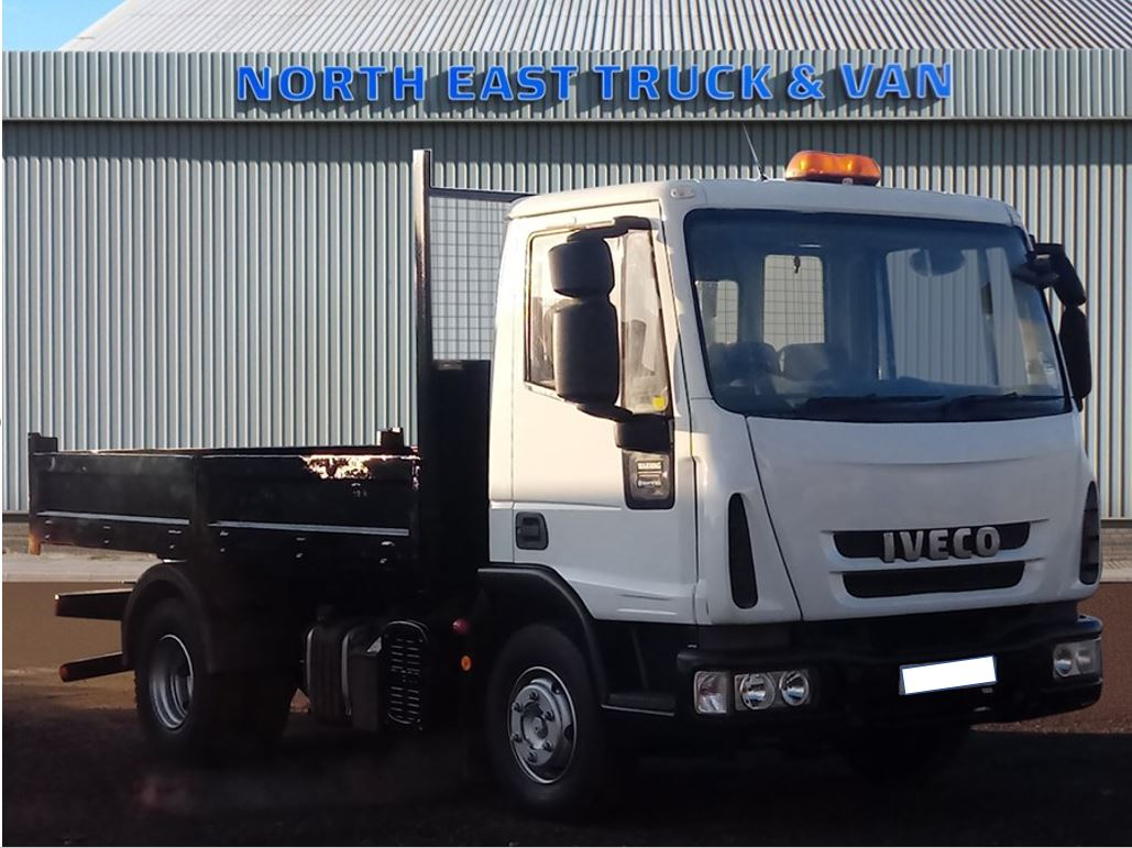 Refurbished IVECO Eurocargo 7.5 tonne tippers in stock