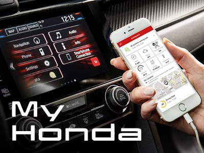 My Honda - Complimentary with Service Plan