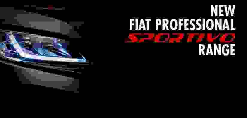 Introducing the Fiat Professional Sportivo Range…