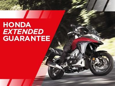 Honda Motorcycles - Extended Guarantee