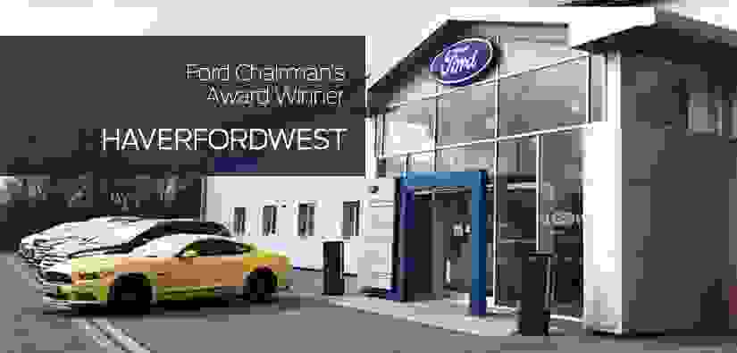 Haverfordwest Branch Awarded Ford Chairman's Award!