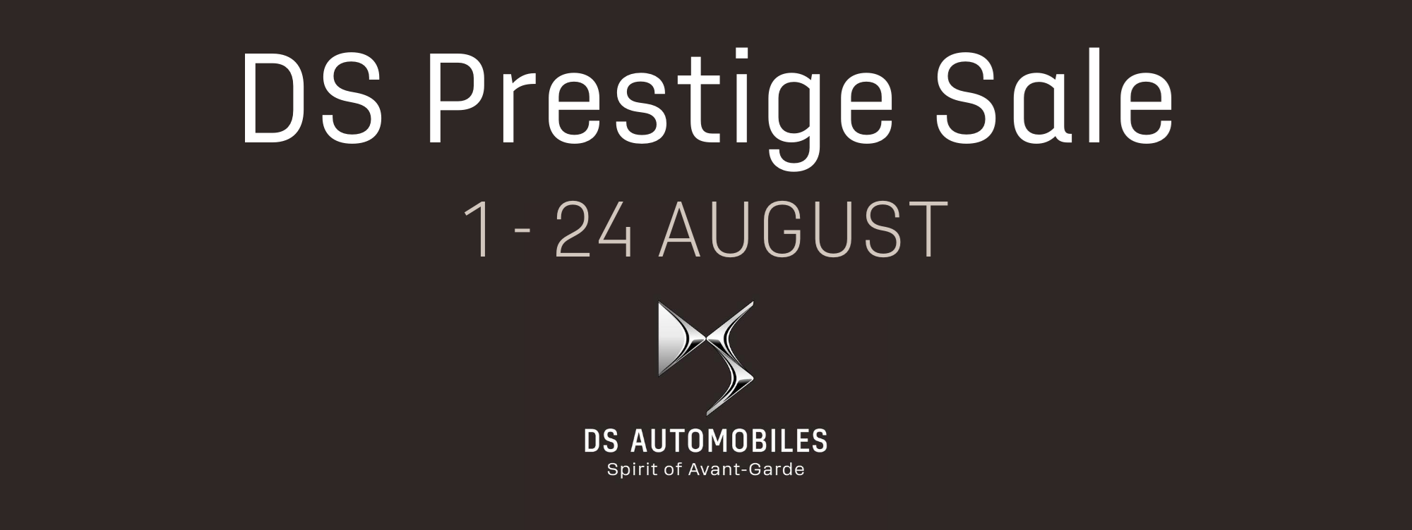 Exclusive DS Sale Event now on at Telford's Carlisle