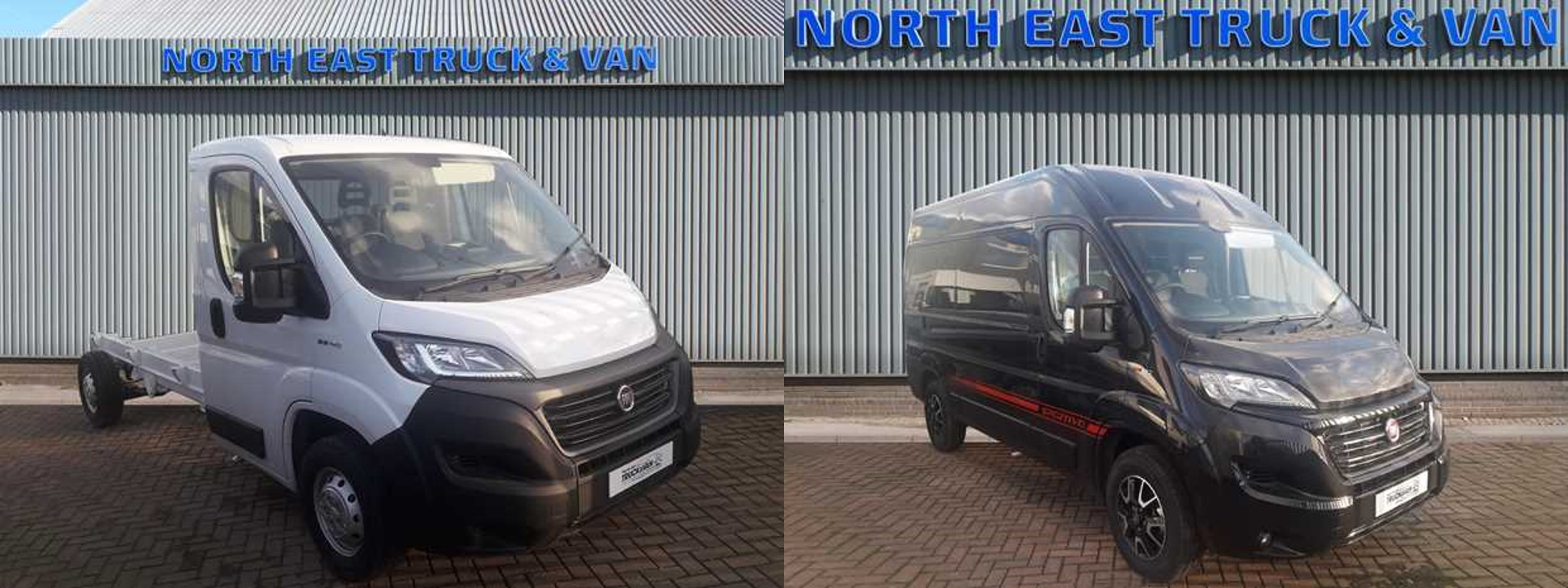 Unregistered Fiat Professional vehicles in stock and ready to go