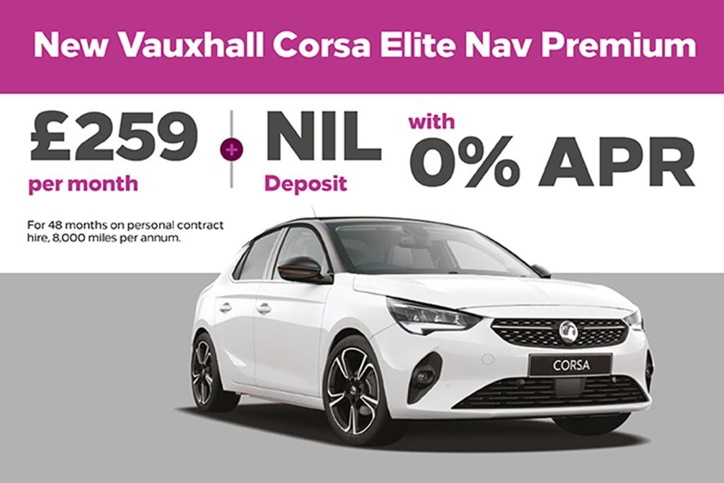 New Car Corsa Elite Nav Premium