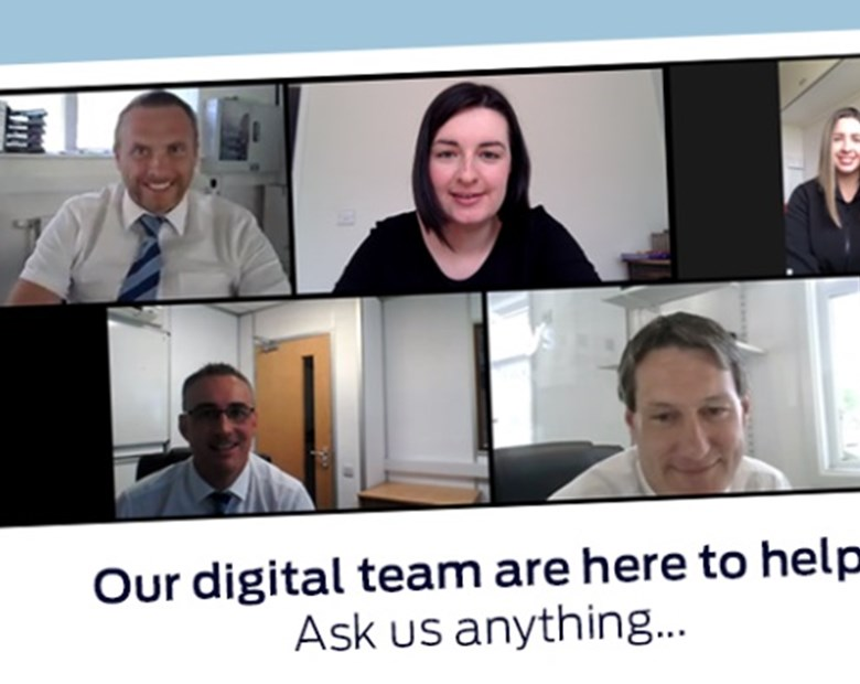 Our Digital Team are Here to Help