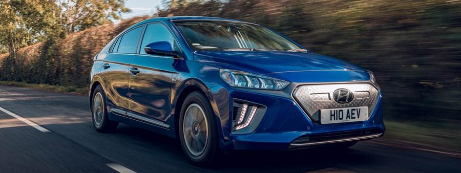 Hyundai IONIQ Named Best Electric Family Car