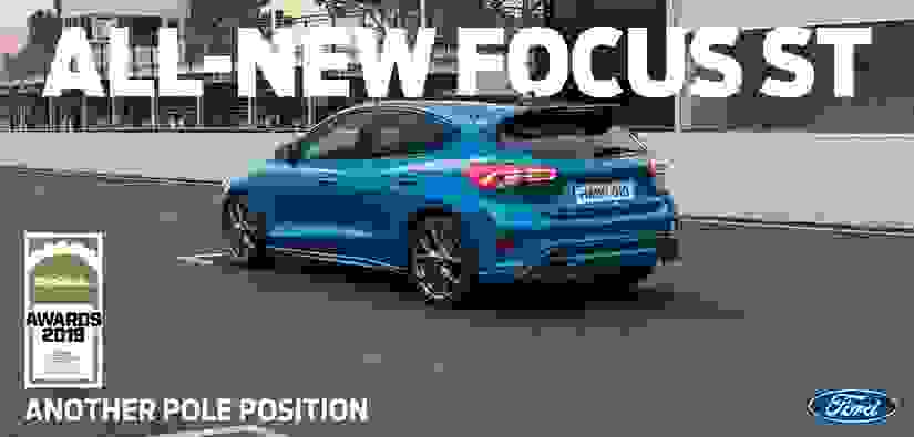 Ford Focus ST Named Hot Hatch of the Year