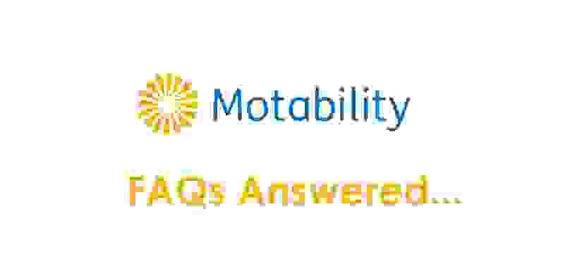 Motability FAQs