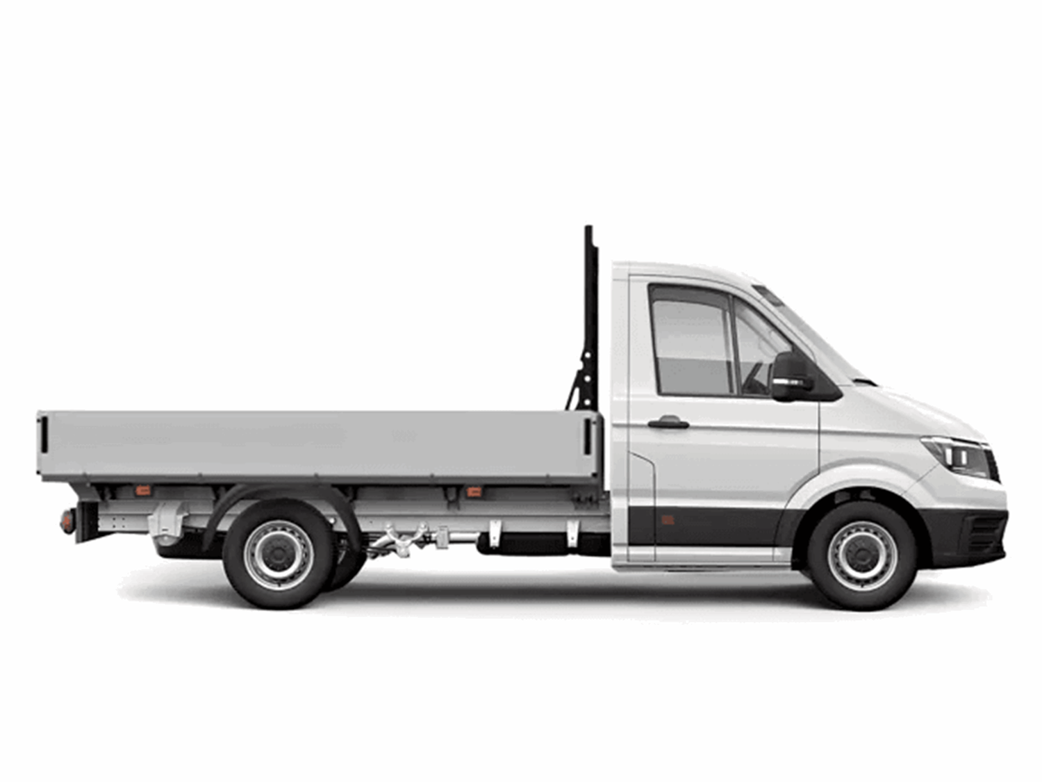 White Crafter Tipper Side View