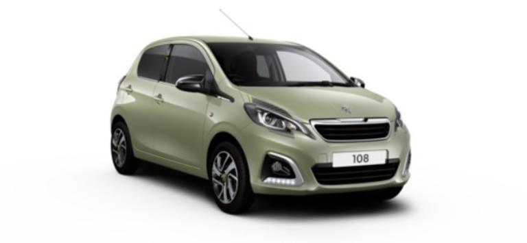 Peugeot 108 Motability Offers