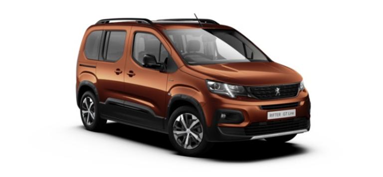 Peugeot Rifter Motability Offers