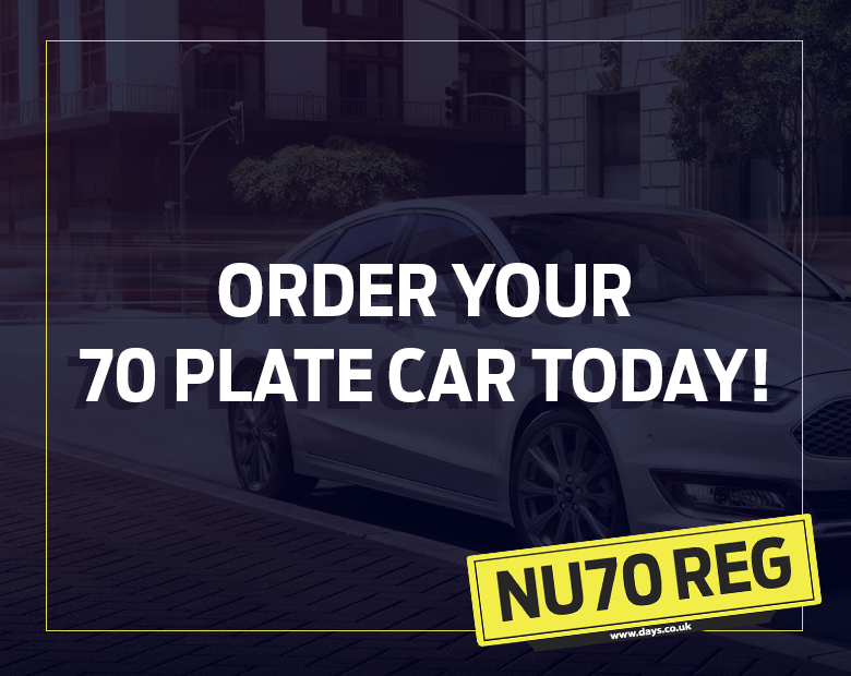 Order Your 70 Plate Car!