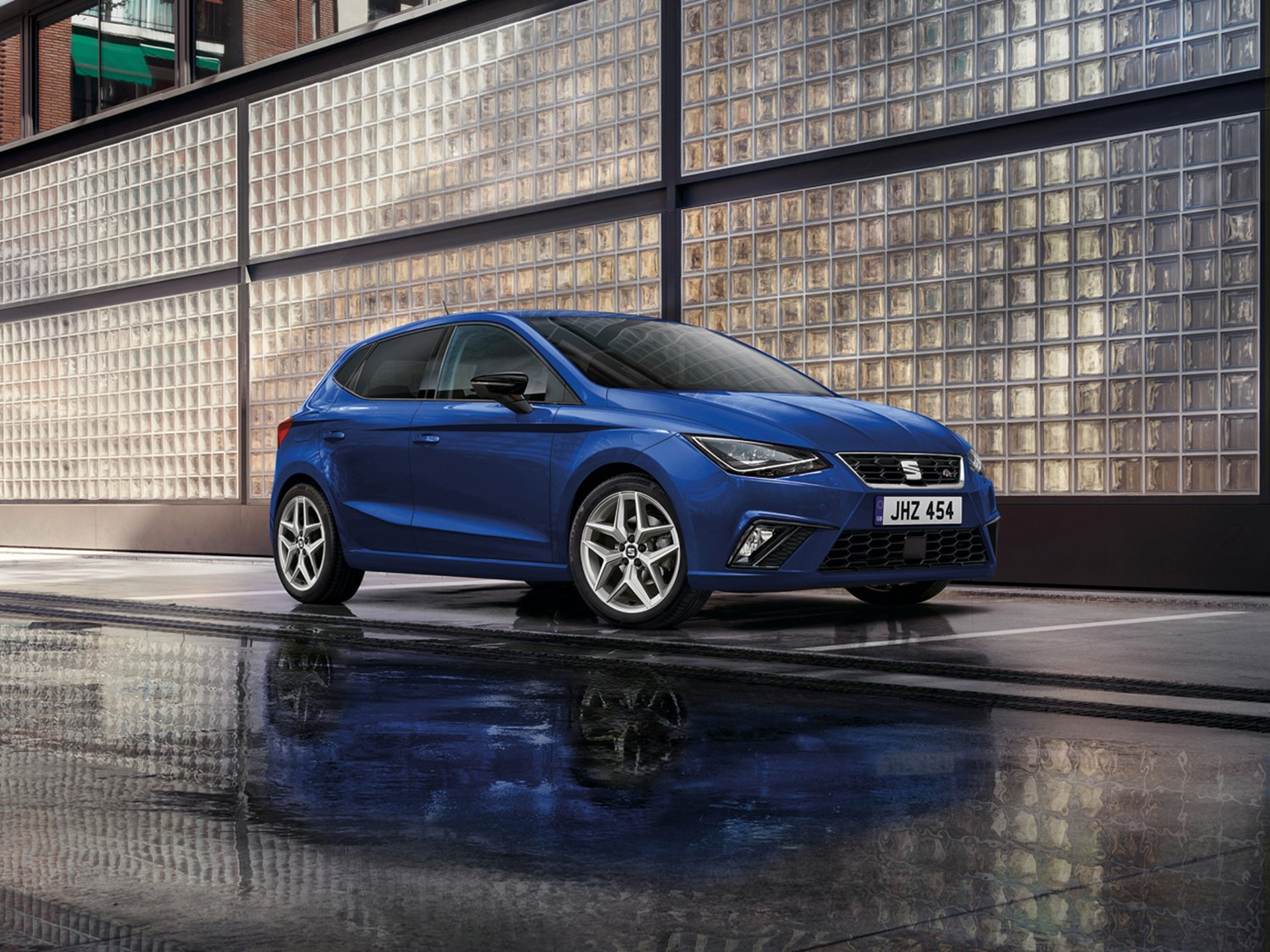 New SEAT Ibiza in blue