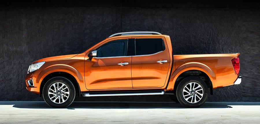 The Nissan Navara. The next generation of pick-up.