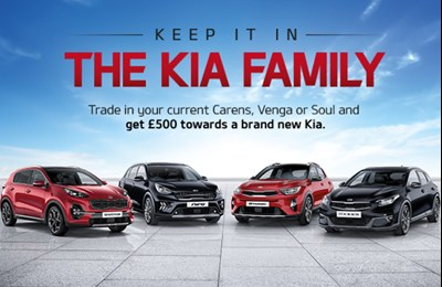 Kia Keep it in the Family Loyalty Offer