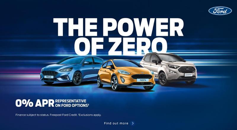 Ford Power of Zero Offer