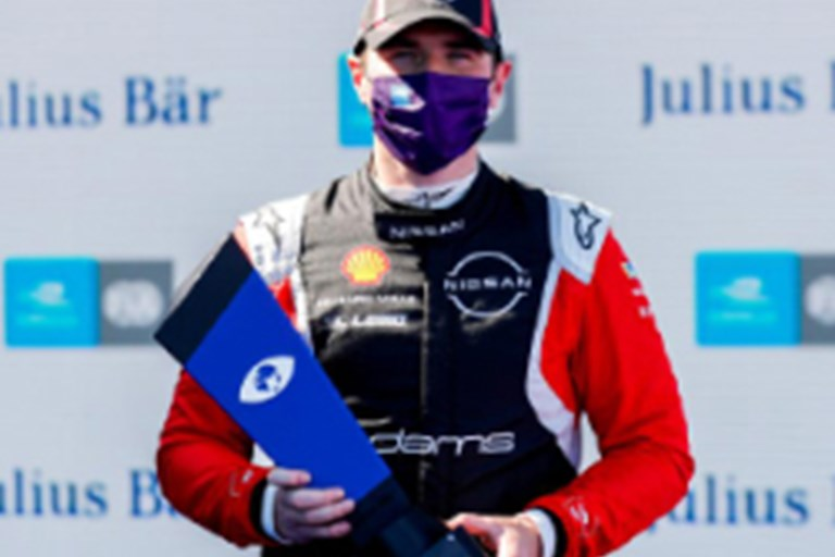 Nissan e.dams scores first win of the season in Berlin Formula E season finale