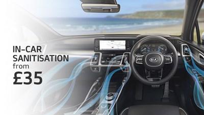 In Car Sanitisation. A Breath of Fresh Air, Clean Air from £35