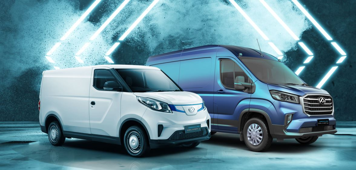 New Maxus range available with 5-year warranty as standard