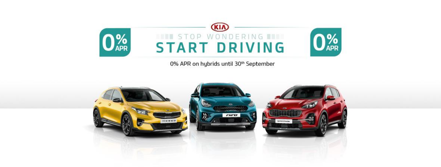 Kia Hybrid cars with 0% APR offer