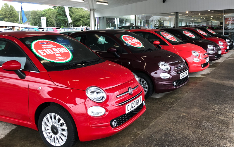 Huge savings on Fiat 500's!