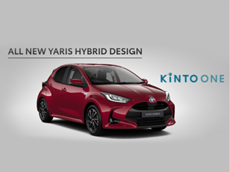All New Yaris Hybrid Design