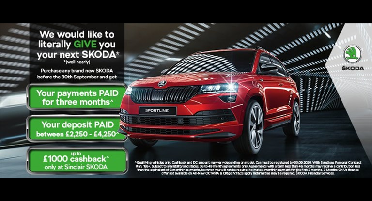 Get up to £1,000 cashback this September*