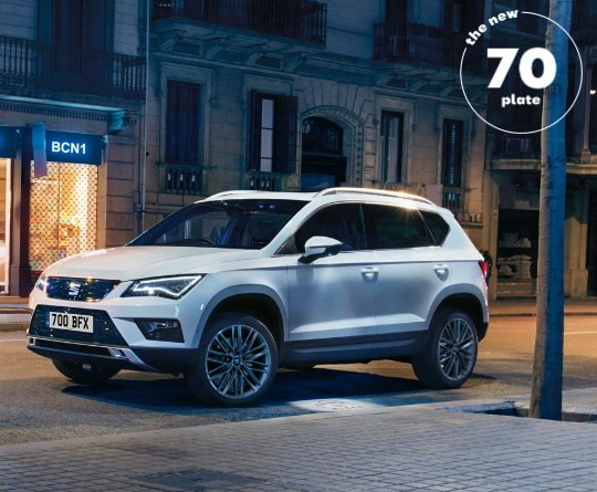Ateca PCP SUV Offer
