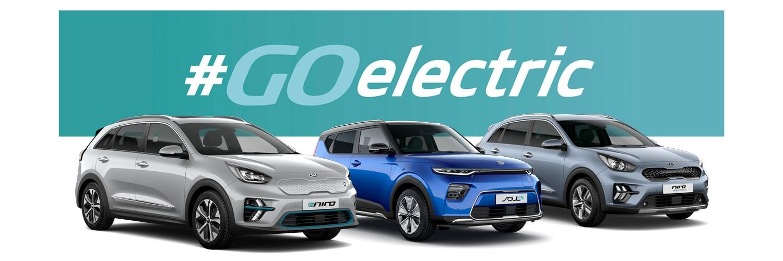 Kia Go Electric Range of Eco Cars