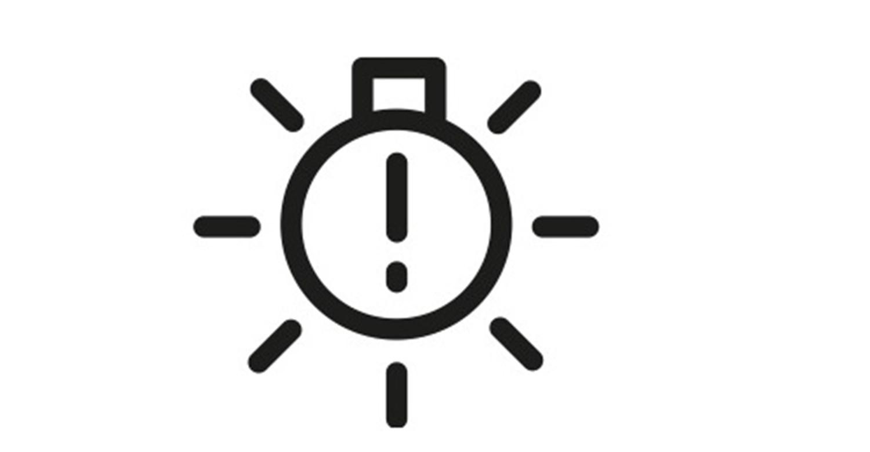 Headlight warning light