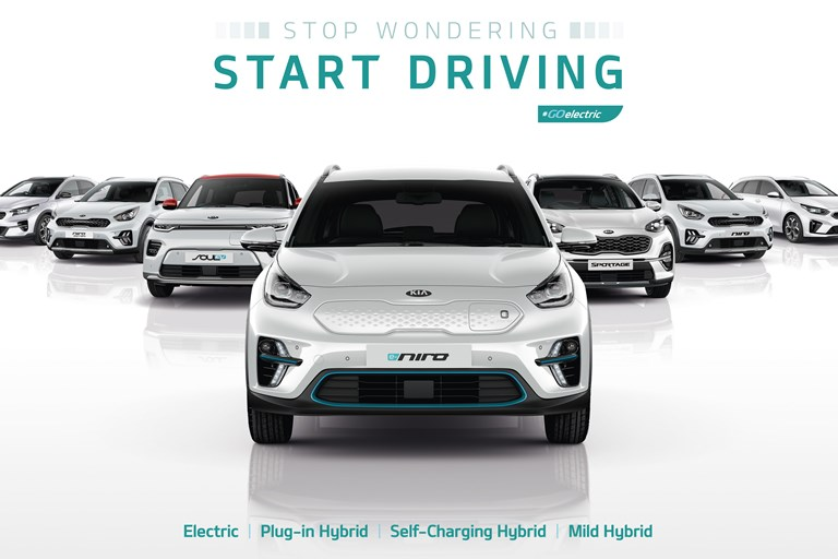 Reduce the Whole life costs of your fleet with the Kia Eco Range