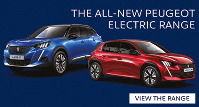 Peugeot Electric and Hybrid Range at Sherwoods