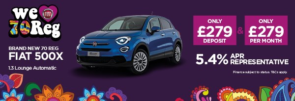 Brand New Fiat 500X 1.3 Lounge Automatic