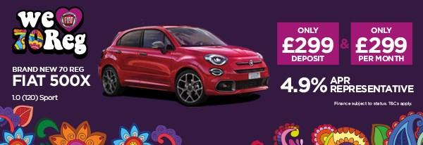 Brand New Fiat 500X 1.0 (120) Sport