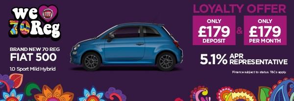 Brand New Fiat 500 1.0 Sport Mild Hybrid
