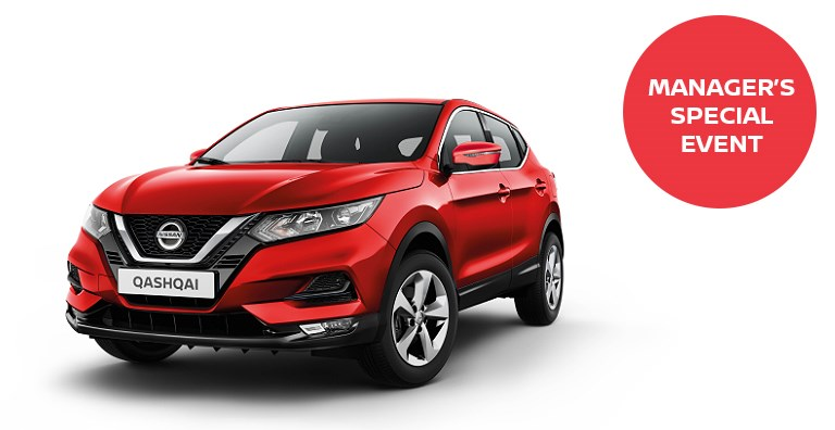 Switch Up To The Nissan Qashqai